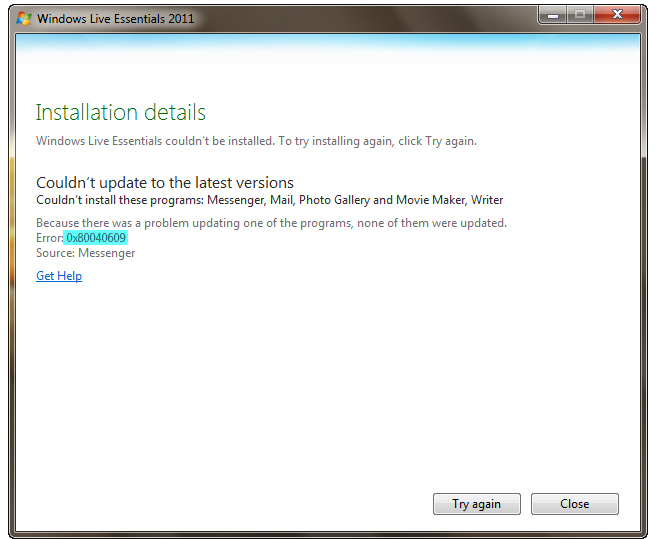 how to repair windows live mail 2011