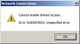 error-0x80004005