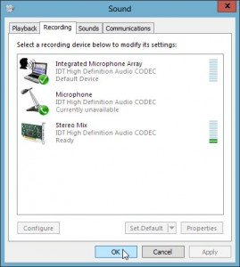 IDT audio driver