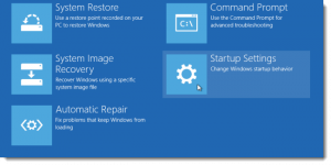 Windows 8 boot options