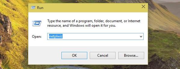 disable windows 10 login screen