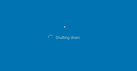 make windows shut down faster