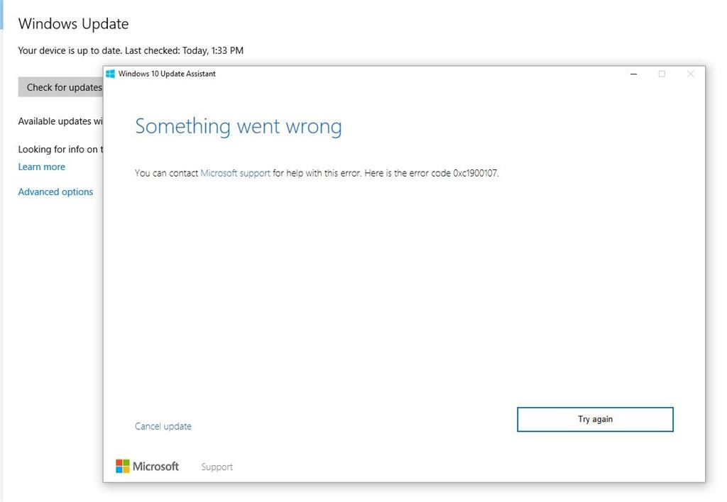 How to Fix Windows Update Error Code 0xc1900107 Fast