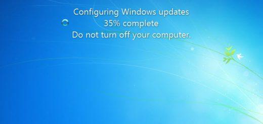 Windows April 2019 update stuck